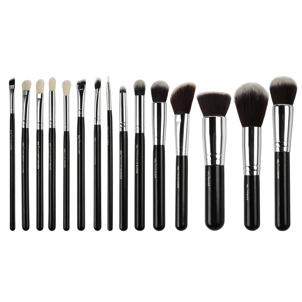 Meikki Siveltimet Collection On Ebay Zoeva Dark Brown 8 Piece Bursh Set Bag Hot Complete Face And Eye Brush With Case 12 15