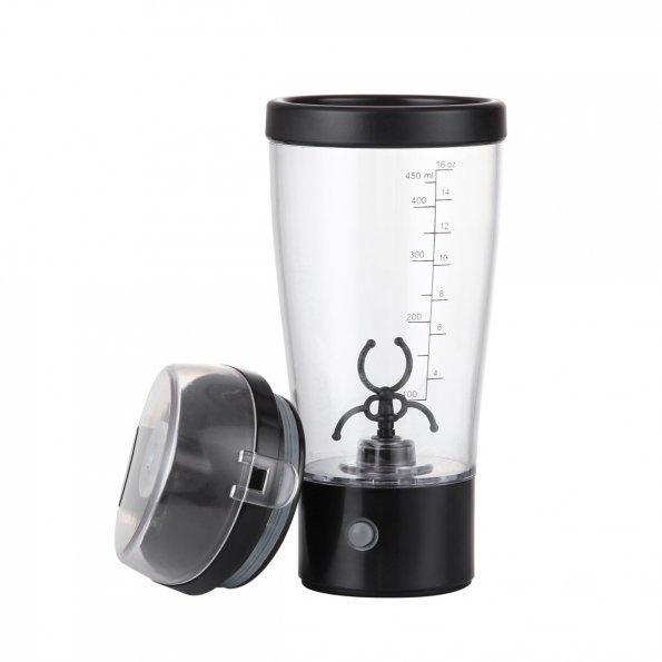 Protein Shaker Net: LAGUTE Electric Protein Shaker Blender Portable Powder