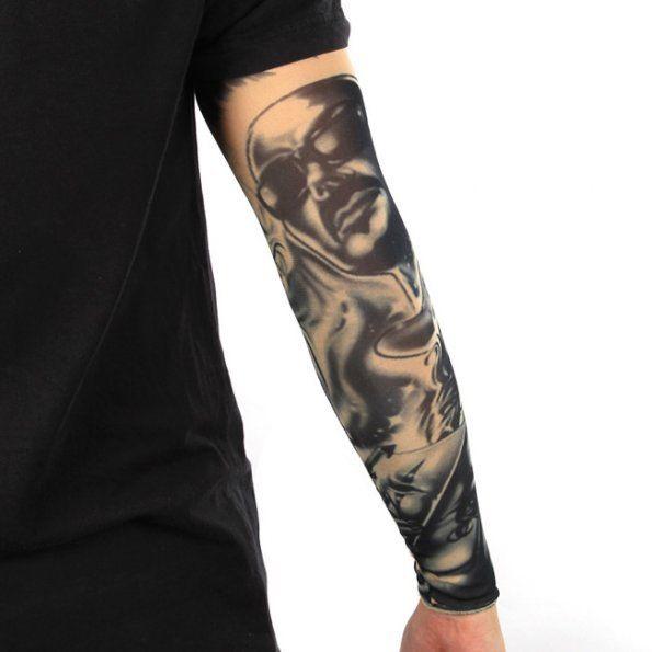 1 pcs fashion tatoo sleeves temporary fake tattoos sleeves for Fake tattoo sleeves toronto