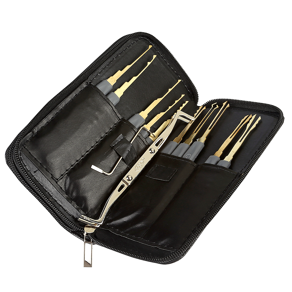 profi 24 teilig lockpicking set einzelhaken sperrwerkzeuge dietrich knacken ebay. Black Bedroom Furniture Sets. Home Design Ideas