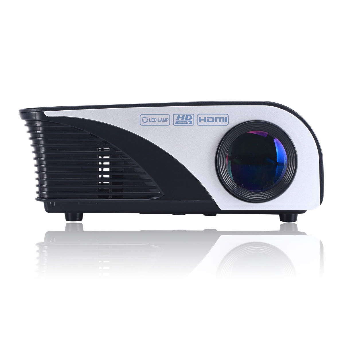 Rd 805b led mini projector home theater projectors 1200 for Miniature projector