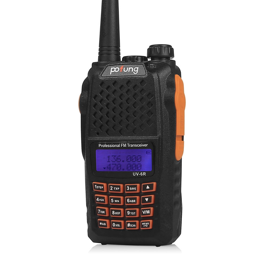 Handheld Scanner Radio Portable Police Fire EMS HAM Two ...