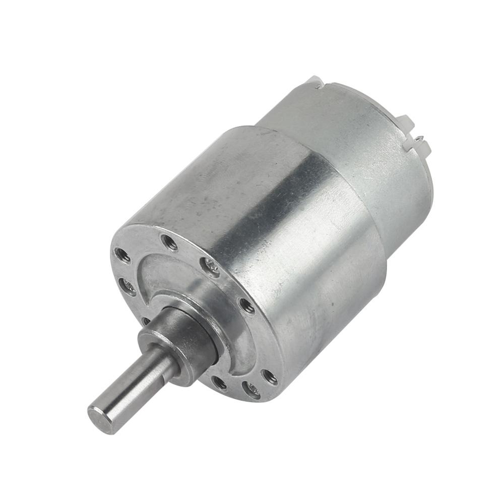 Mini dc 12v 15rpm gb37y500 high torque dc gear box reducer for Variable speed gear motor