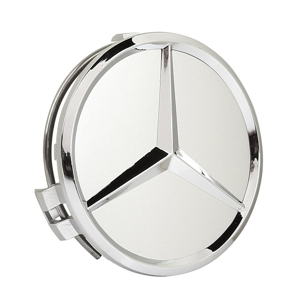 4pcs 75mm center hubcap hub cap caps mb emblem wheel cover for Mercedes benz center cap