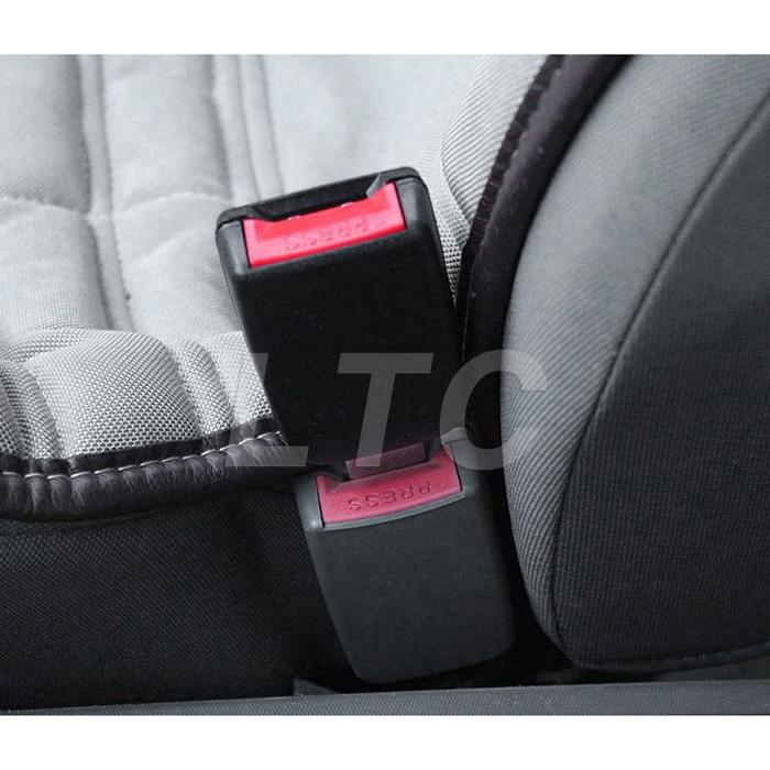sale 2 pcs universal car cover tape belt seat belt adapter 12 cm length black ebay. Black Bedroom Furniture Sets. Home Design Ideas