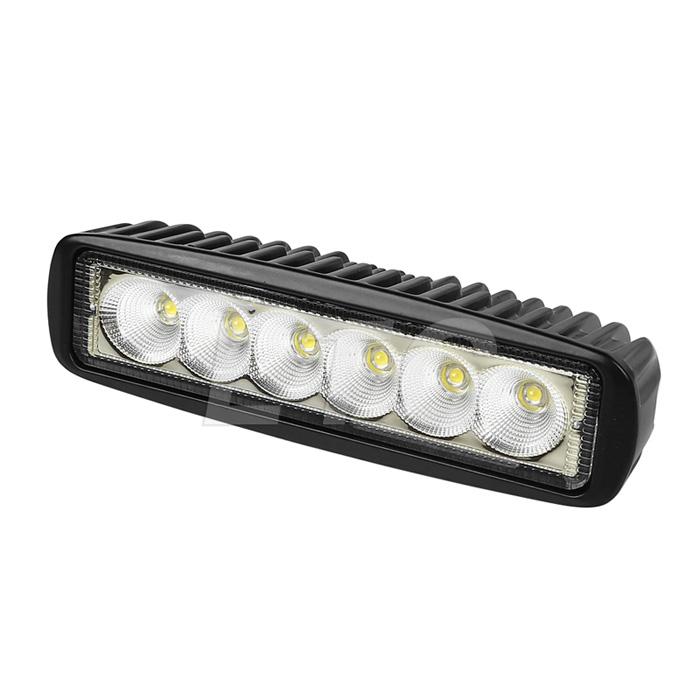 2 pack black spreader led deck marine lights for boat flood light 12v 18w. Black Bedroom Furniture Sets. Home Design Ideas