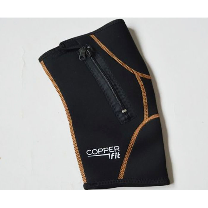 Copper Fit Compression : Copper fit plus infused knee compression sleeve
