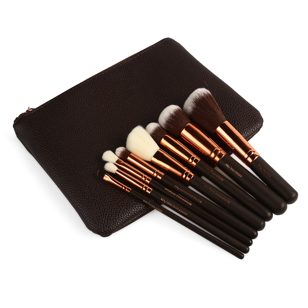 8-12-15pcs-Maquillaje-cosmetico-herramienta-pincel-brochas-set-Eyeshadow-Blush