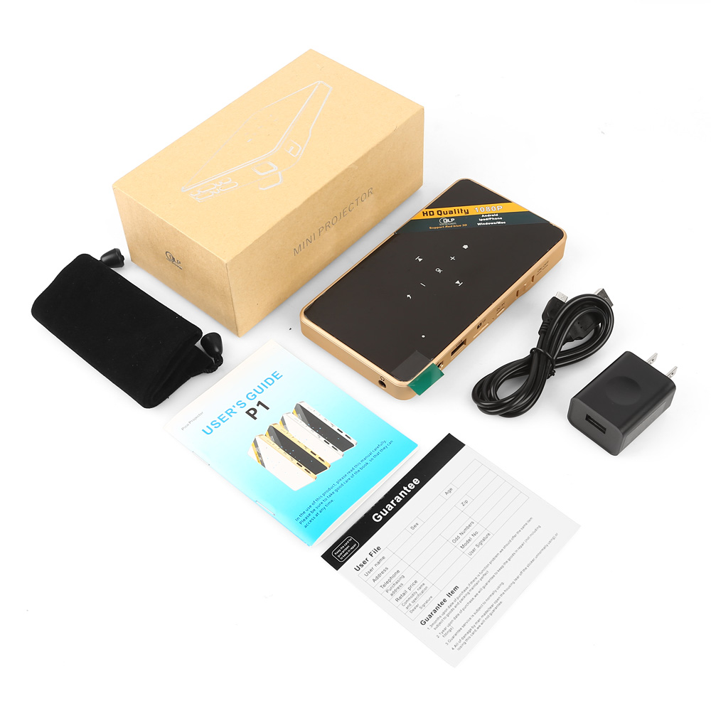 Mini led dlp wifi pocket projector miracast for ios for Pocket projector dlp