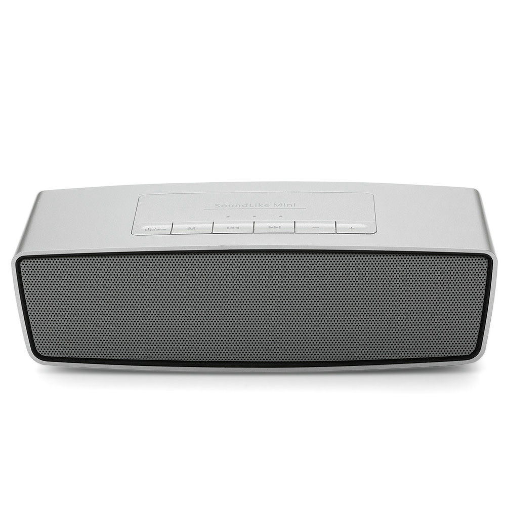 portable wireless bluetooth lautsprecher super bass stereo f r handy pc silber eur 16 99. Black Bedroom Furniture Sets. Home Design Ideas