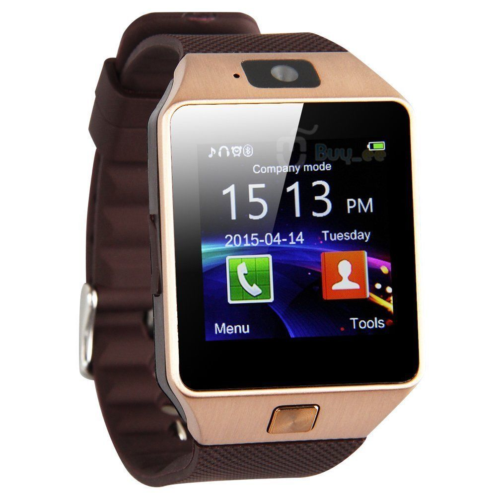 dz09 bluetooth smart watch uhr handy kamera sim karte f r android iphone samsung eur 17 99. Black Bedroom Furniture Sets. Home Design Ideas