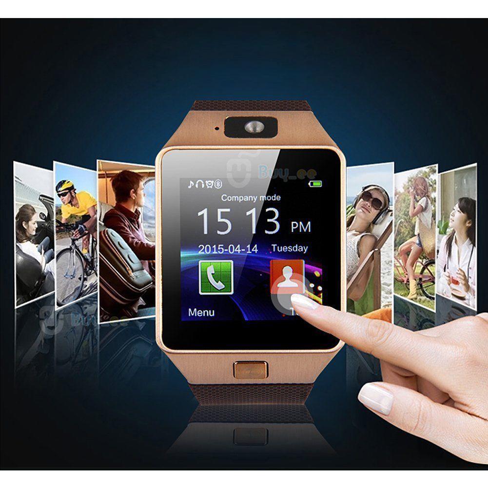 dz09 bluetooth smart watch uhr handy kamera sim karte f r. Black Bedroom Furniture Sets. Home Design Ideas