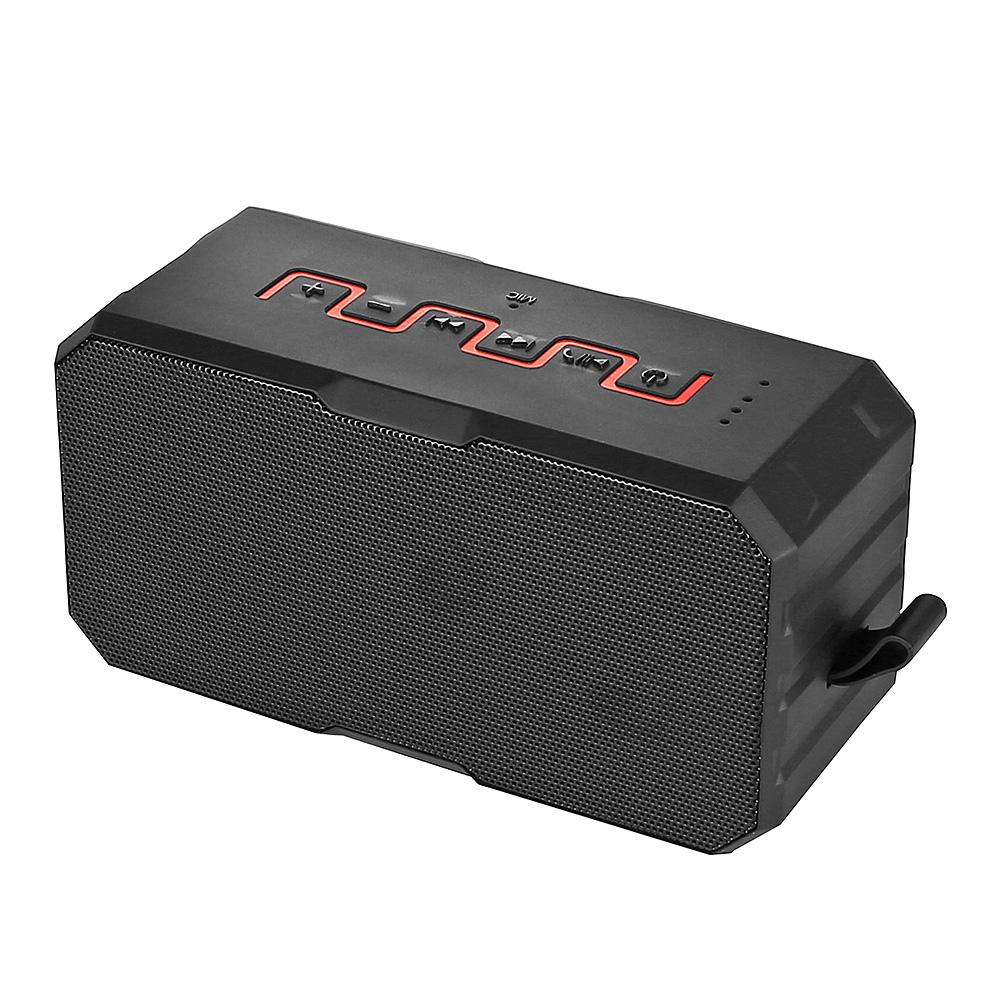 SARDINE IP65 F5 Waterproof Bluetooth Speaker Power Bank Function Black & Red