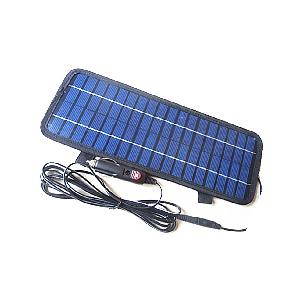4 5w 12v Smart Power Solar Panel Battery Charger For