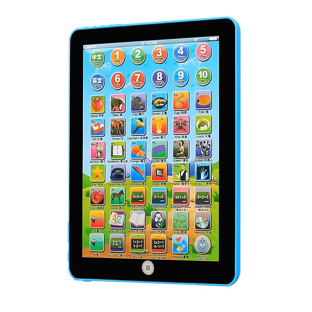Tablet für kinder super gift lernen englisch spielzeug pad