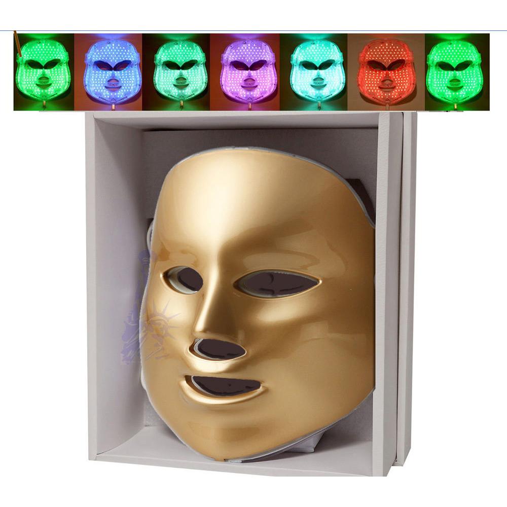 7 colors light photon led facial mask skin rejuvenation. Black Bedroom Furniture Sets. Home Design Ideas