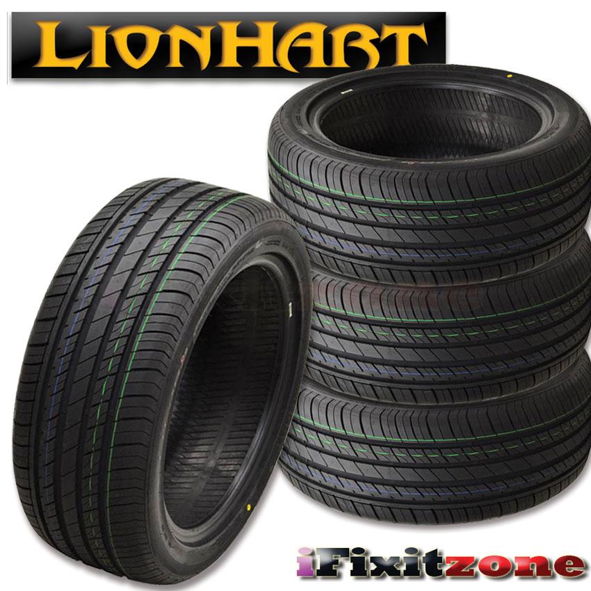 4 lionhart lh 202 245 45r18 100w all season performance. Black Bedroom Furniture Sets. Home Design Ideas