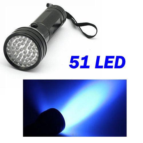 Lampe de torche poche flashlight 9 21 51 led uv violet d t cteur de faux billet ebay - Lampe torche uv ...