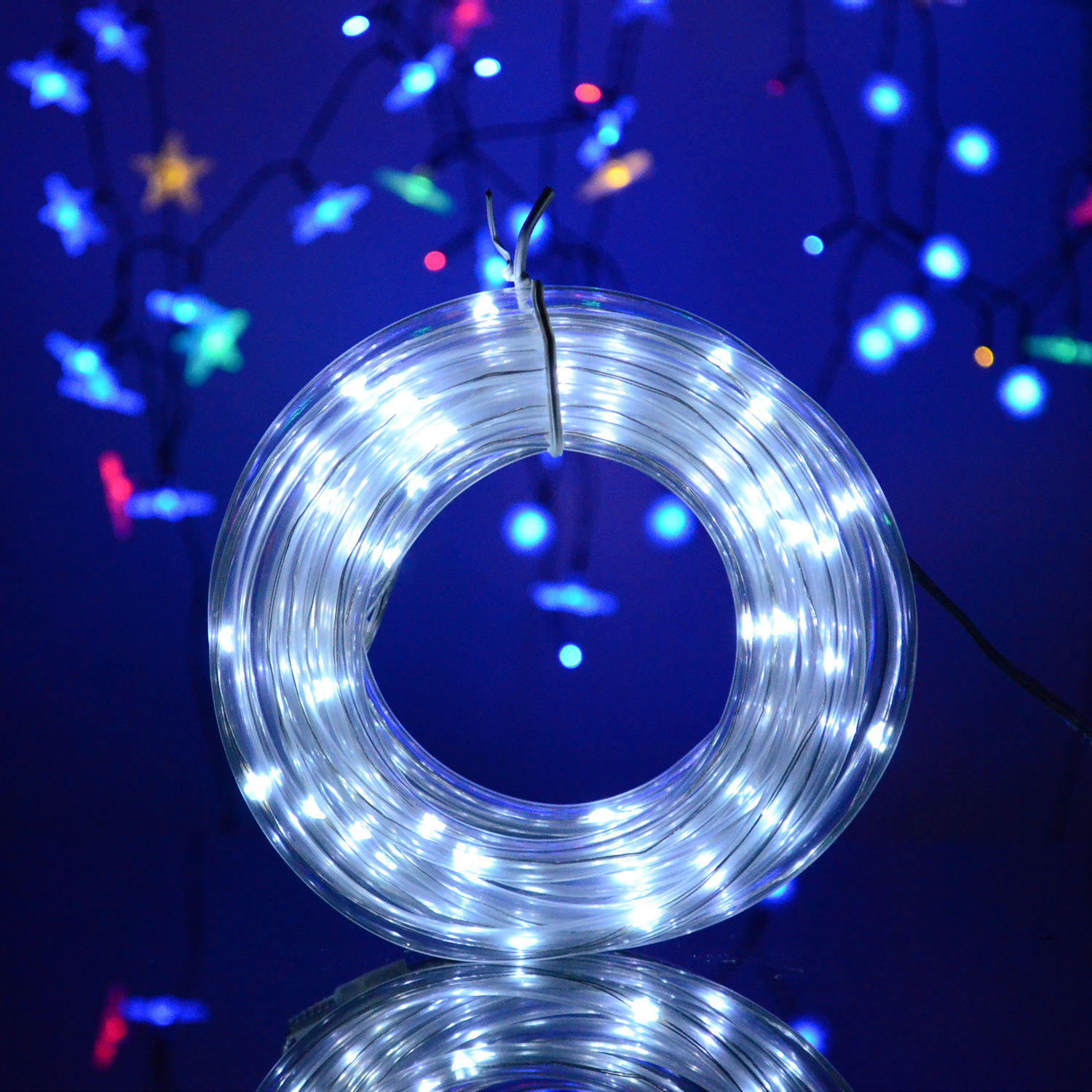 Various Shape LED String Solar Light Outdoor Garden Xmas Party Fairy Tree Bulb eBay