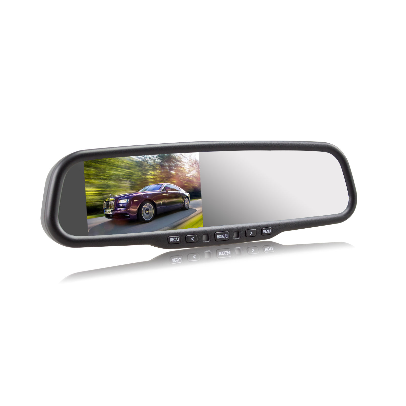 2in1 rear view mirror monitor car dvr video recorder g