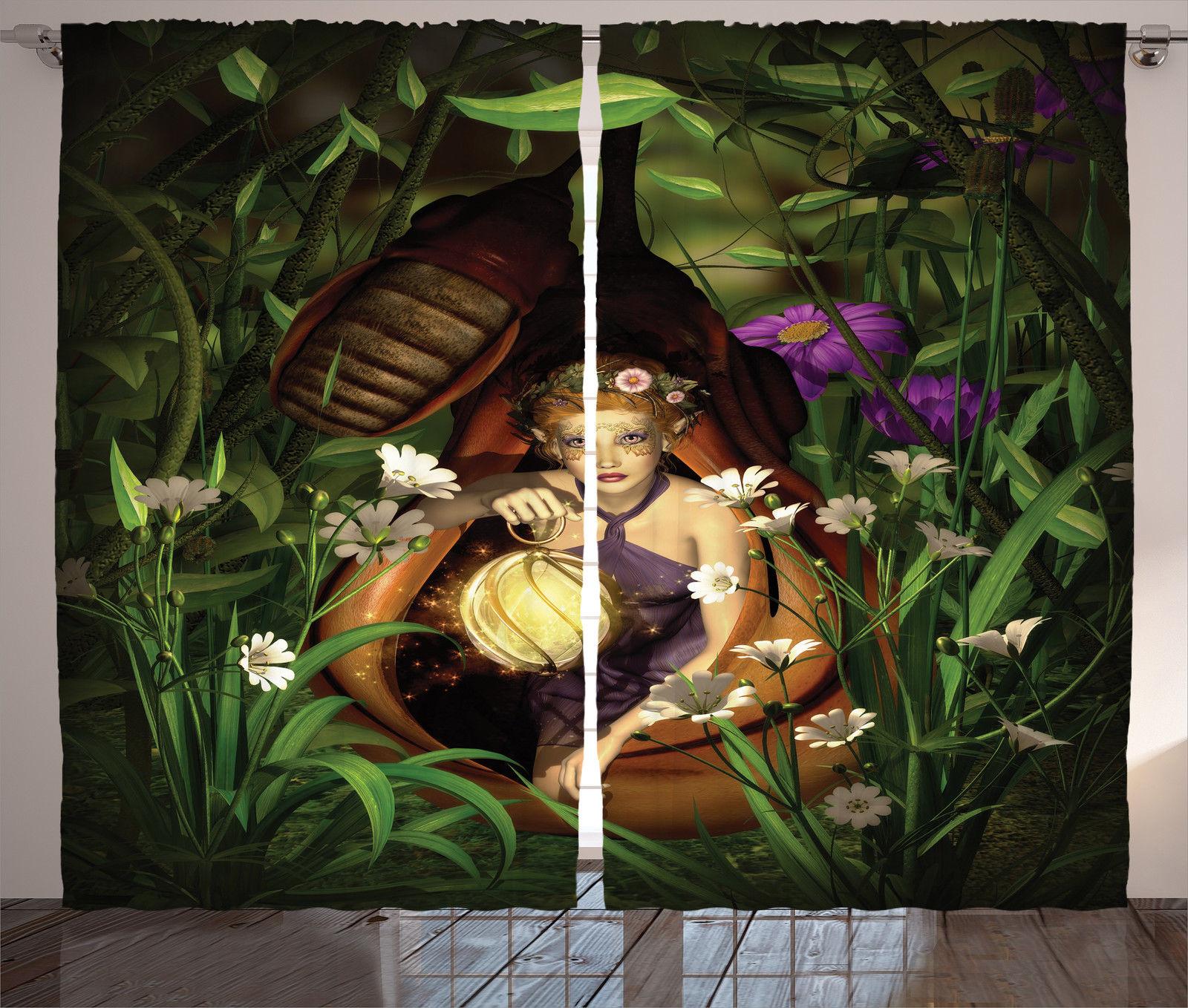 Elf And Lantern Cocoon Mystery Night Light Fairy Art Decor