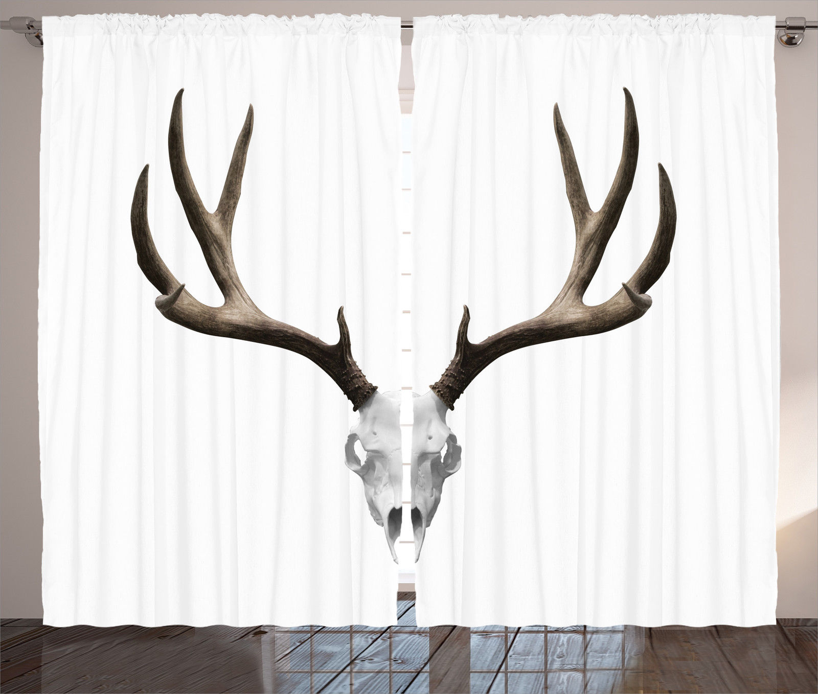 Deer Skull Antlers Halloween Hunting Collection Home Decor