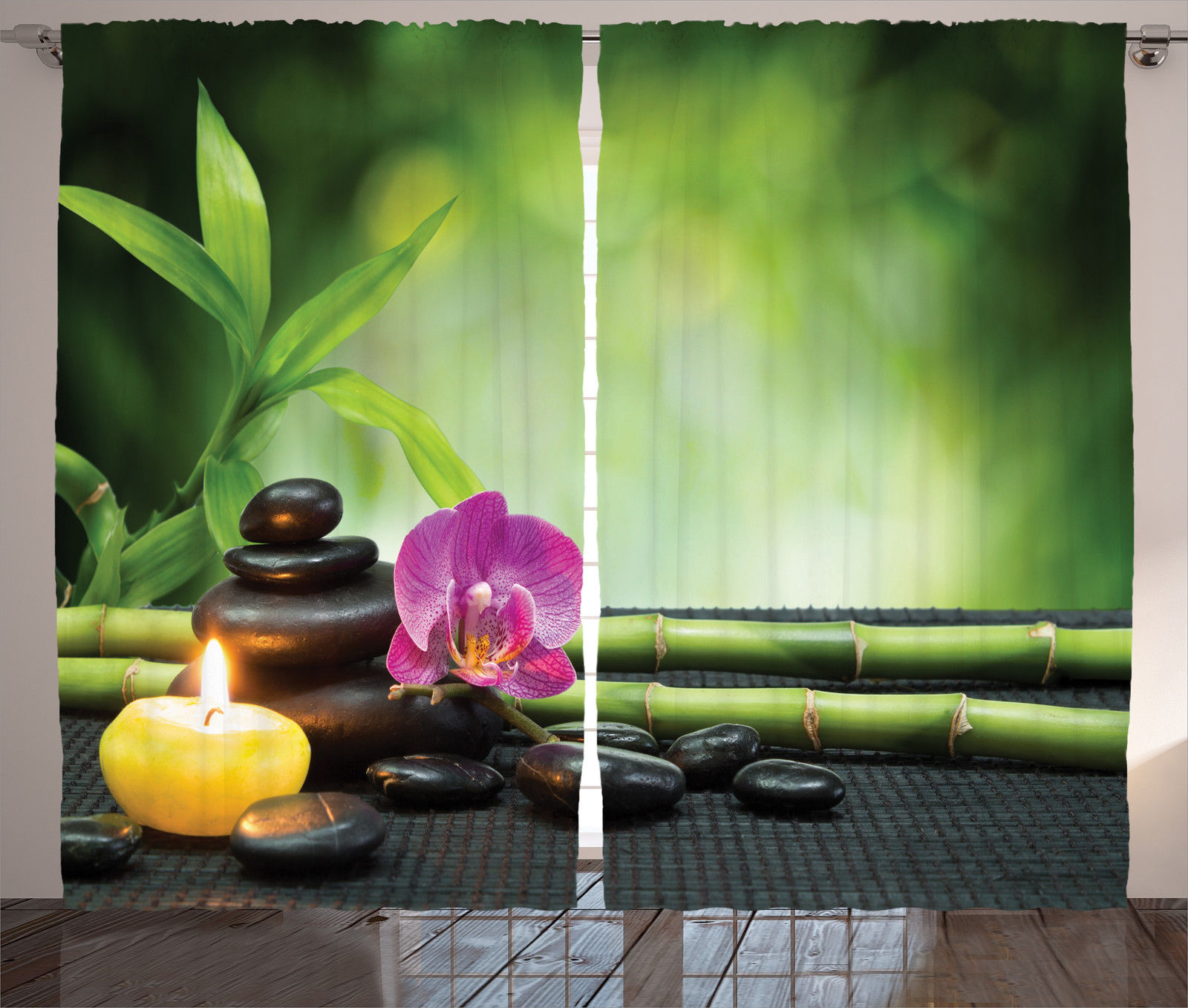 Orchid Bamboo Chakra Stones Japan Feng Shui Therapy Design