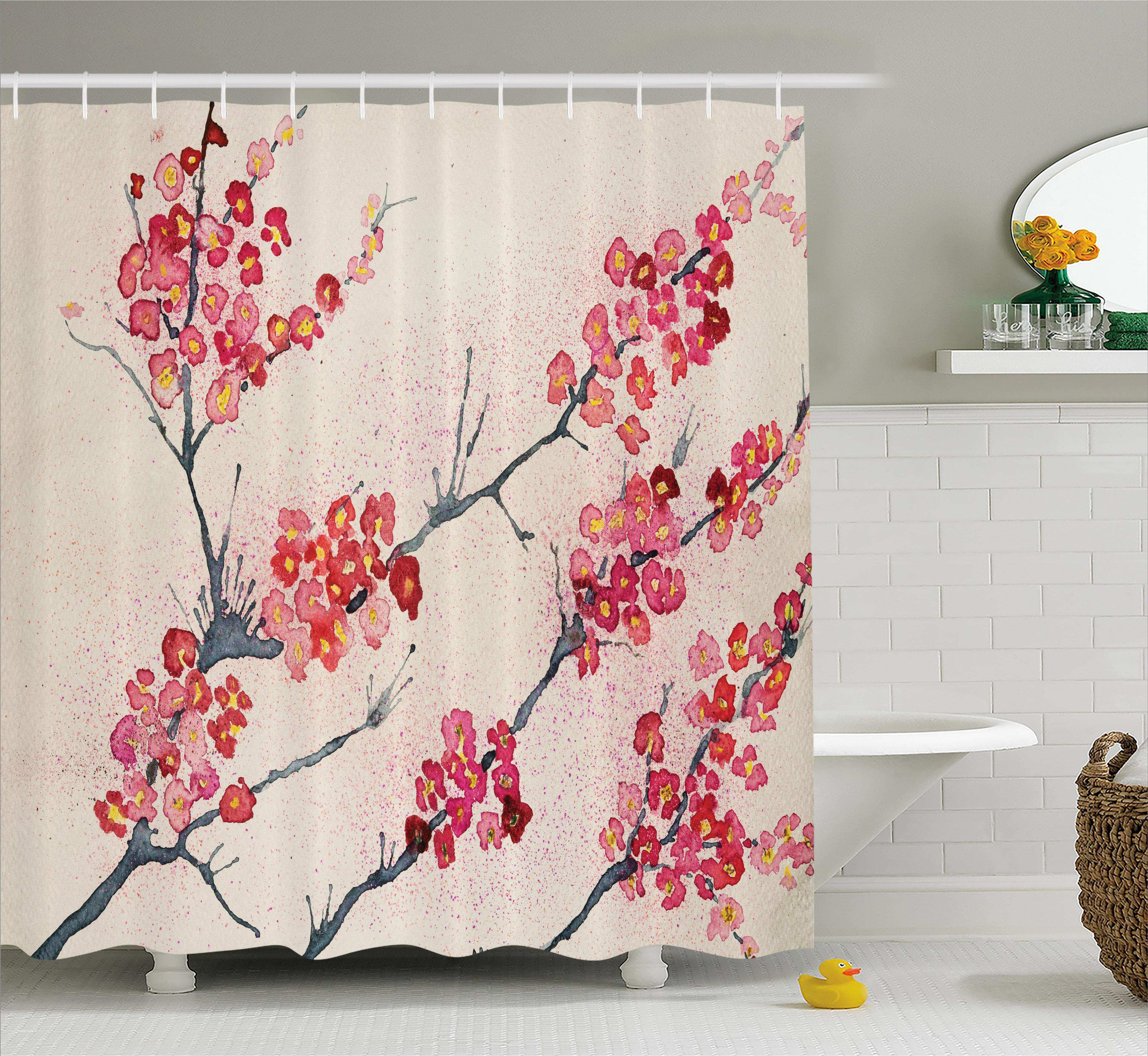 Cherry blossom bathroom
