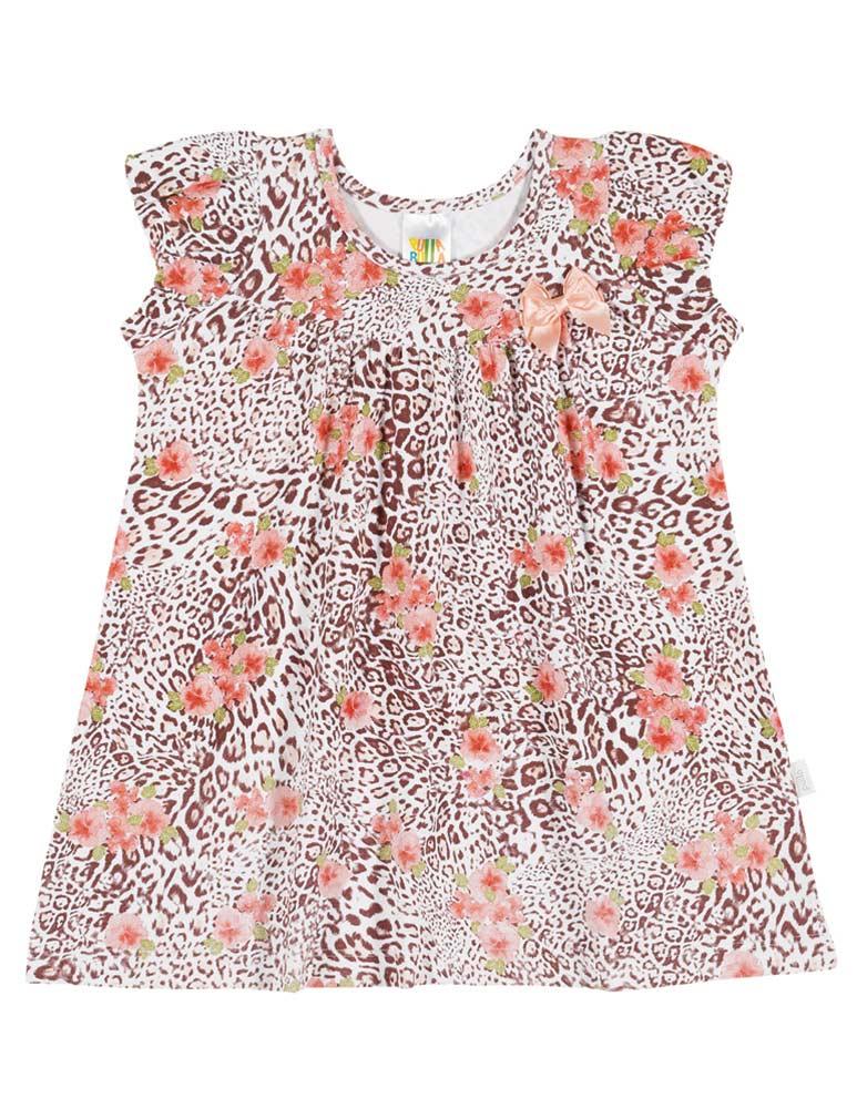 Baby Girl Dress Cheetah Print Infants Pulla Bulla Sizes 3