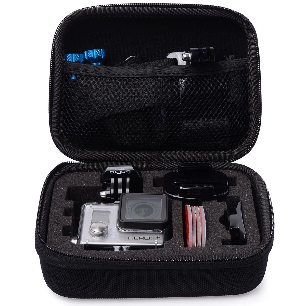 aufbewahrung schutztasche h lle for gopro hero 3 kamera zubeh r ebay. Black Bedroom Furniture Sets. Home Design Ideas