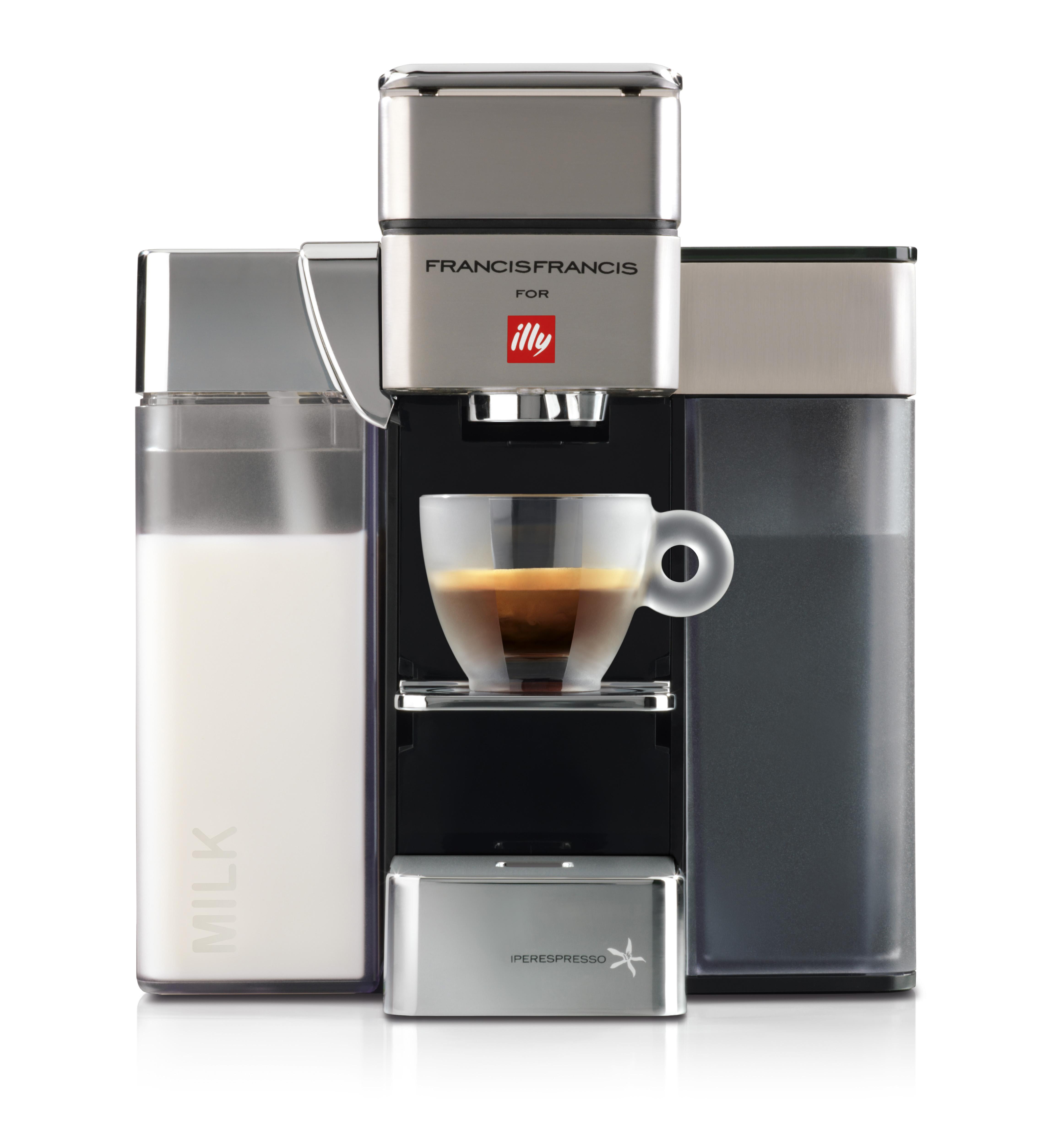 Amps Of Coffee Maker : illy Francis Francis Y5 Milk, Espresso & Coffee Machine
