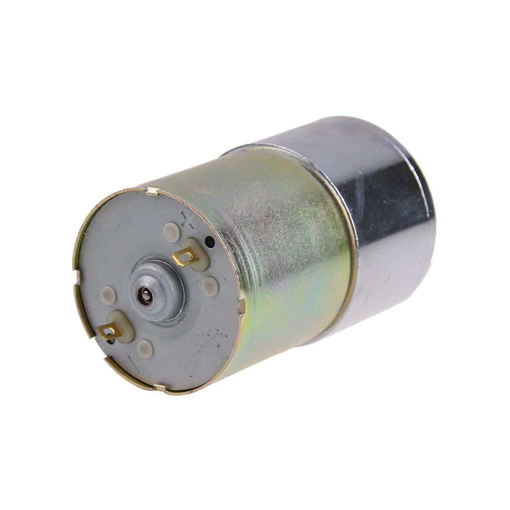 100 Rpm Gear Box Electric Motor 12v Dc Reversible High