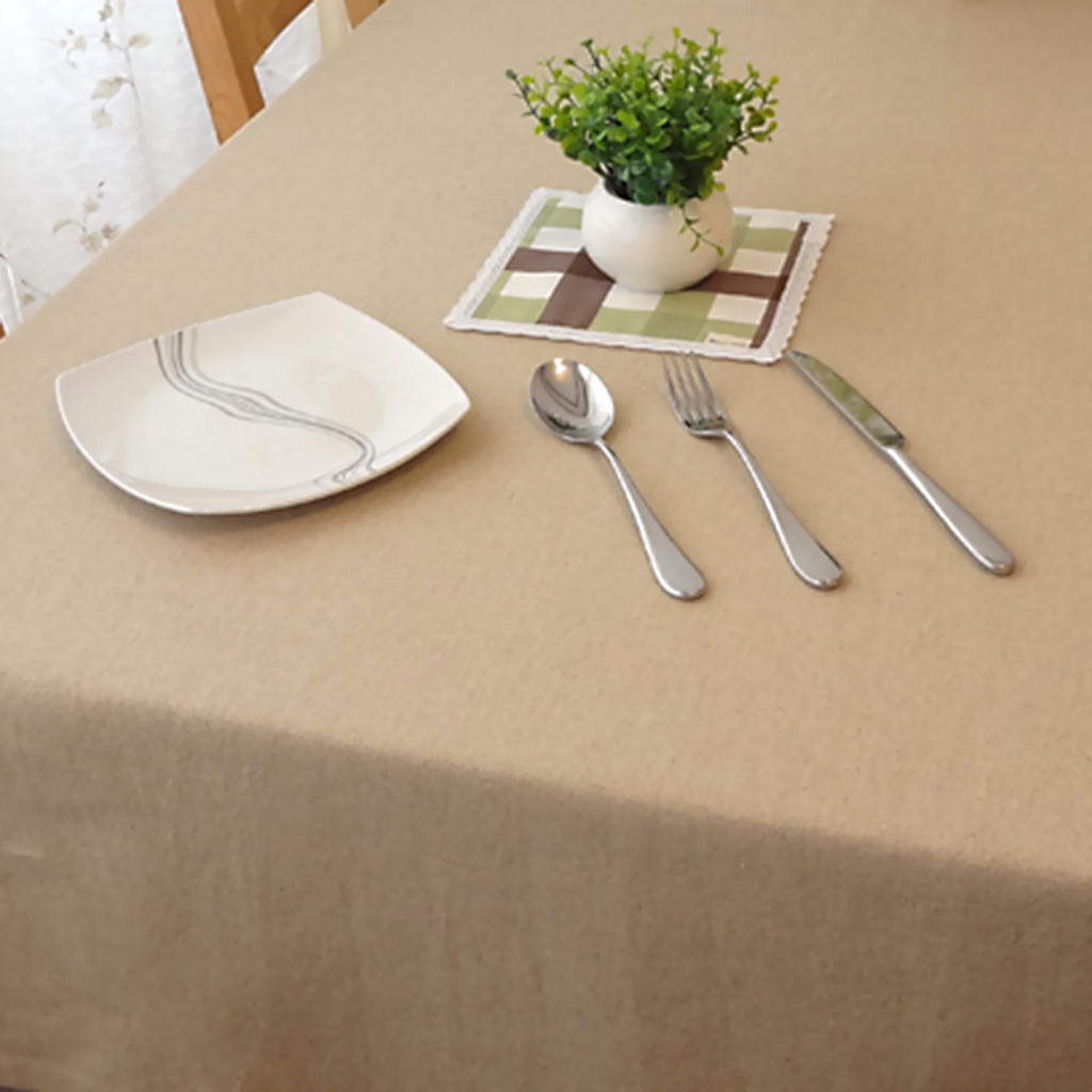details about dining room table cloth linen elegant coffee wedding