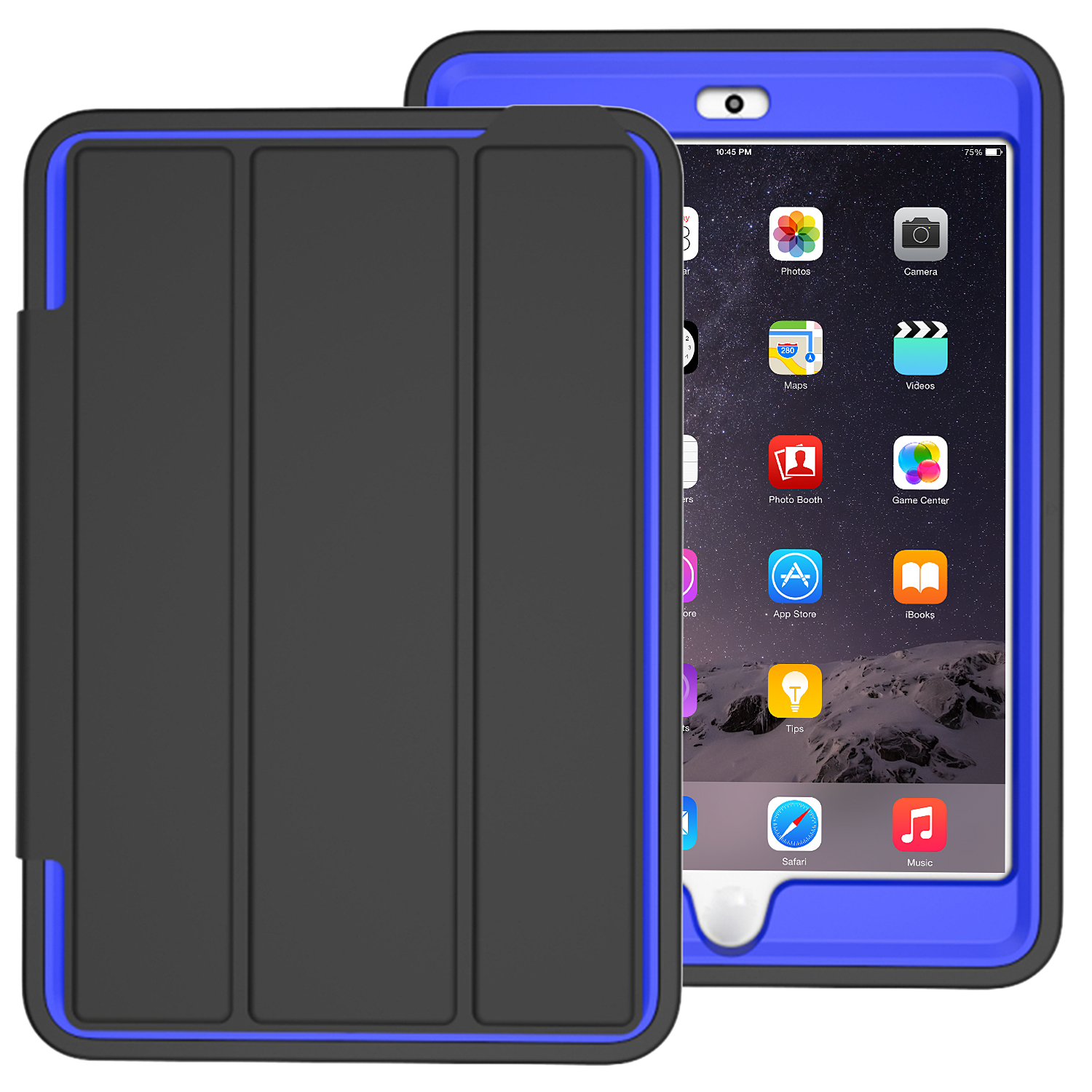 SMART SHOCKPROOF COVER STAND RUBBER LOT CASE FOR APPLE ...