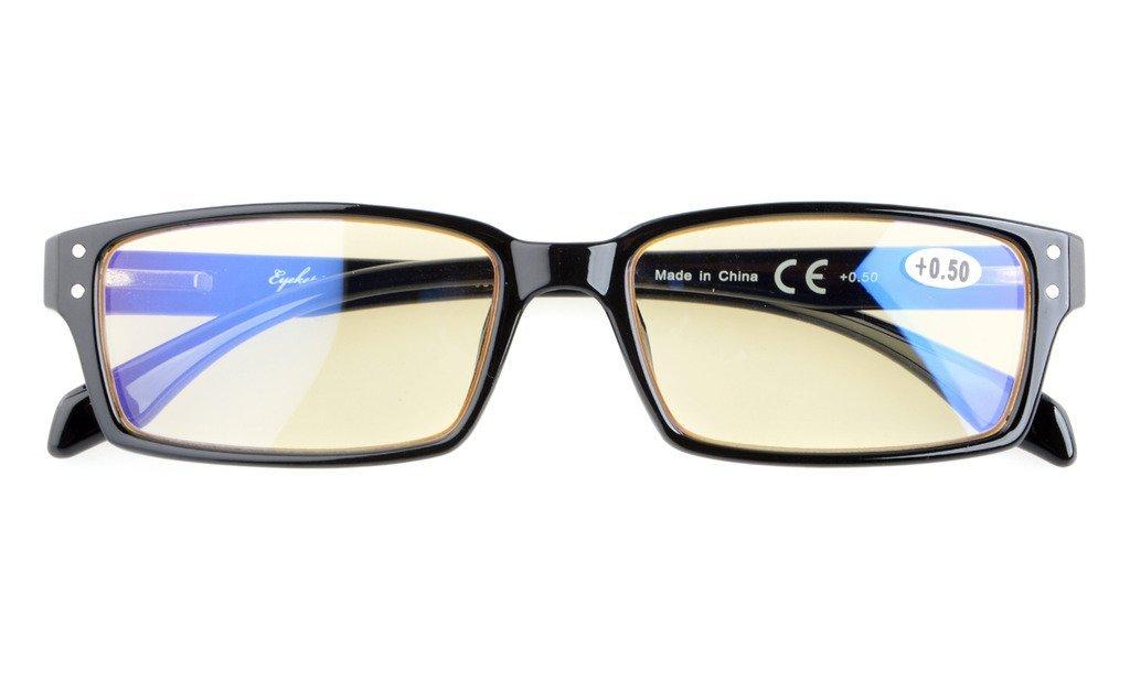 blue light glare blocking computer reading glasses