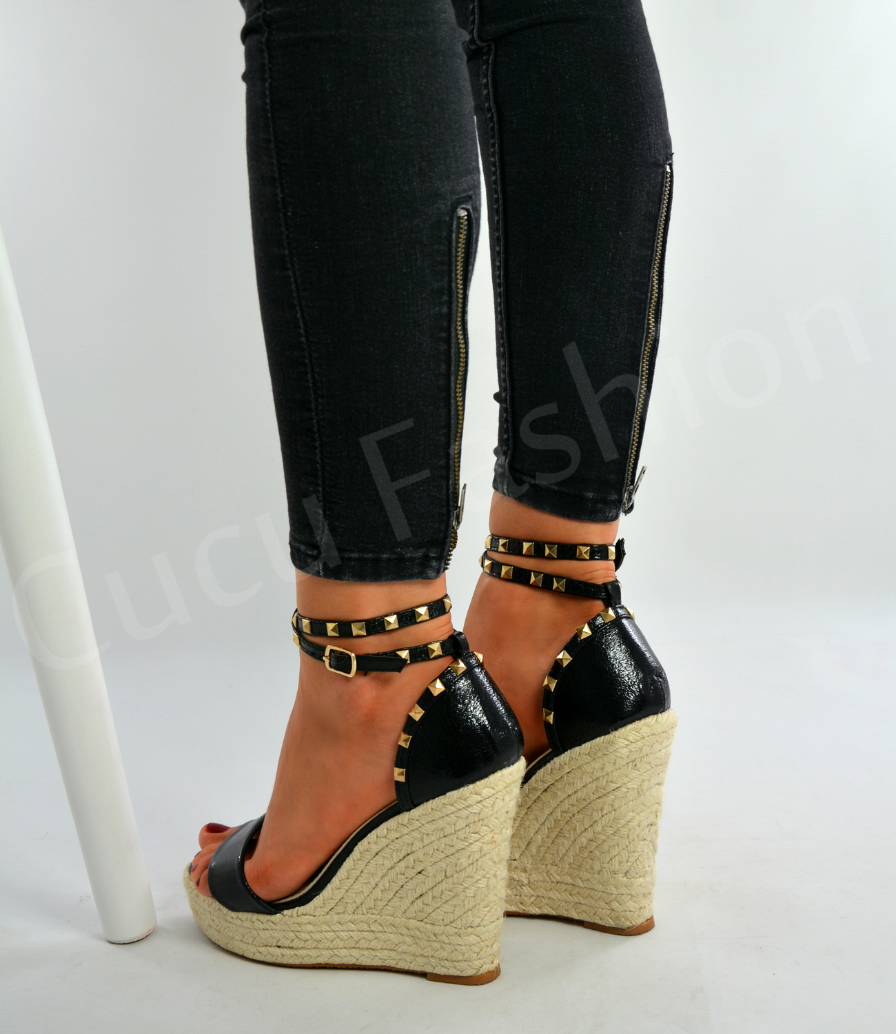 6 Tall Wedge Shoes. Clearance shoes are discounted and will not be valid for returns or exchanges.