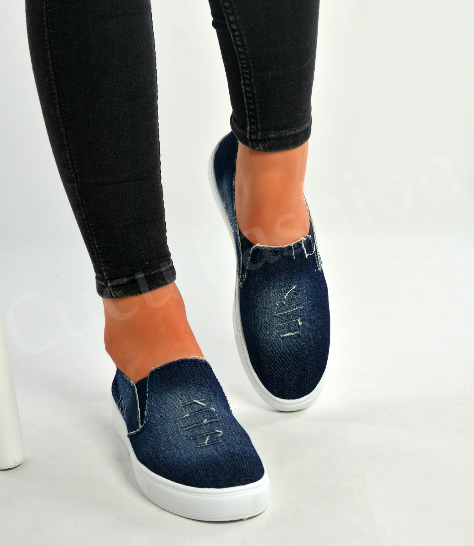 Flat Canvas Pump Shoes