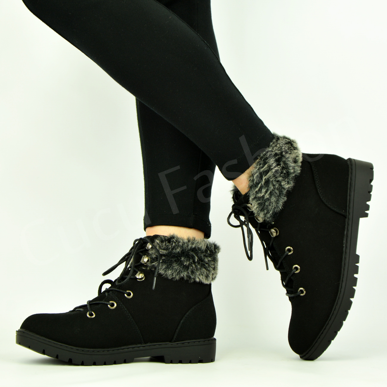 Original Womens NorthWest WaterProof Leather Lace Up Walking Hiking Boots UK Sizes 3 To 8 | EBay