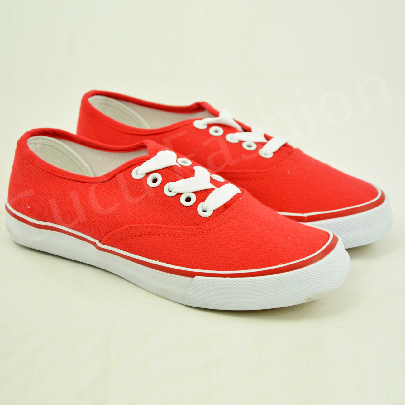 new womens canvas trainers lace up flat sneakers