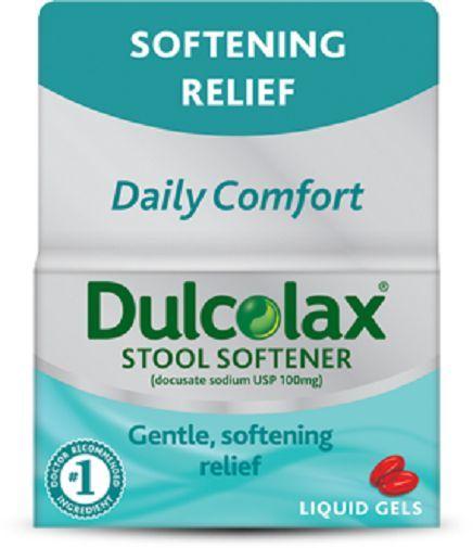Dulcolax Stool Softener Liquid Gels Ebay