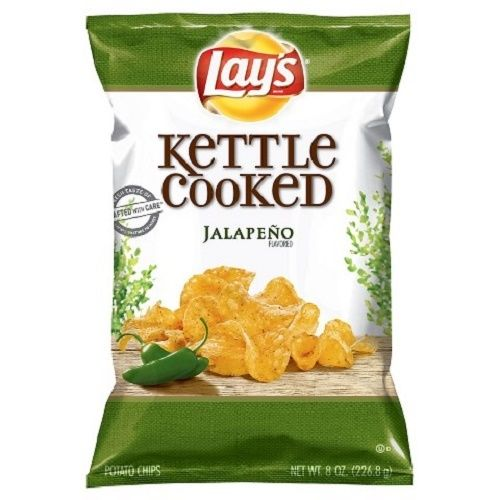 Kettle Cooked Chips ~ Lay s kettle cooked jalapeno potato chips ebay