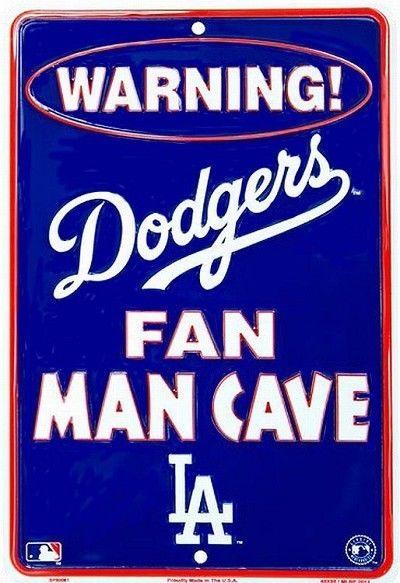 los angeles dodgers mlb fan man cave parking sign ebay