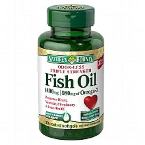 Nature 39 s bounty fish oil 1400 mg odor less triple strength for Does fish oil expire
