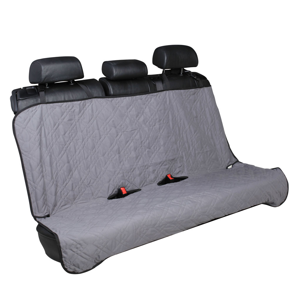 car back seat cover pet bench seat protector 55 x 47 grey ebay. Black Bedroom Furniture Sets. Home Design Ideas