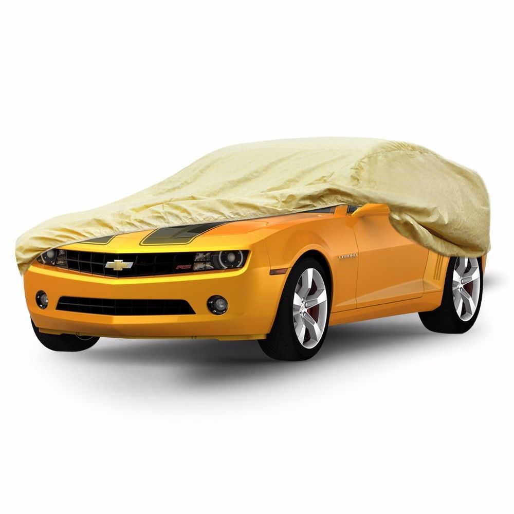 waterproof outdoor car cover fit chevy camaro 2010 2015 heat sun snow dust anti ebay. Black Bedroom Furniture Sets. Home Design Ideas