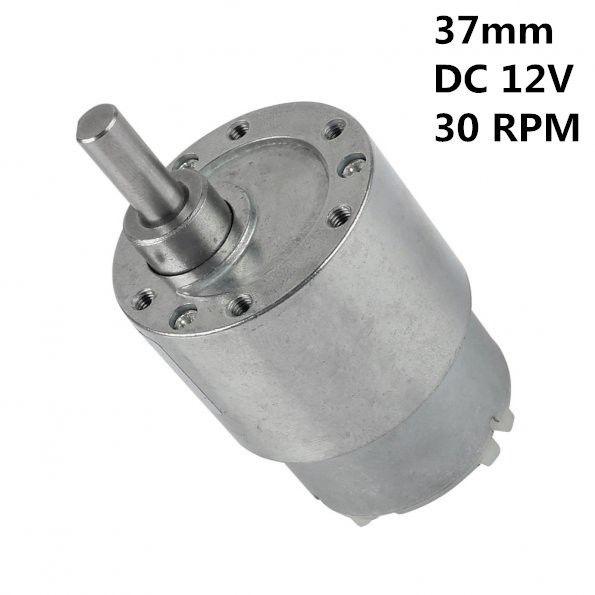 15 20 30 60 Rpm Dc 6v 12v Mini High Torque Gear Box Speed