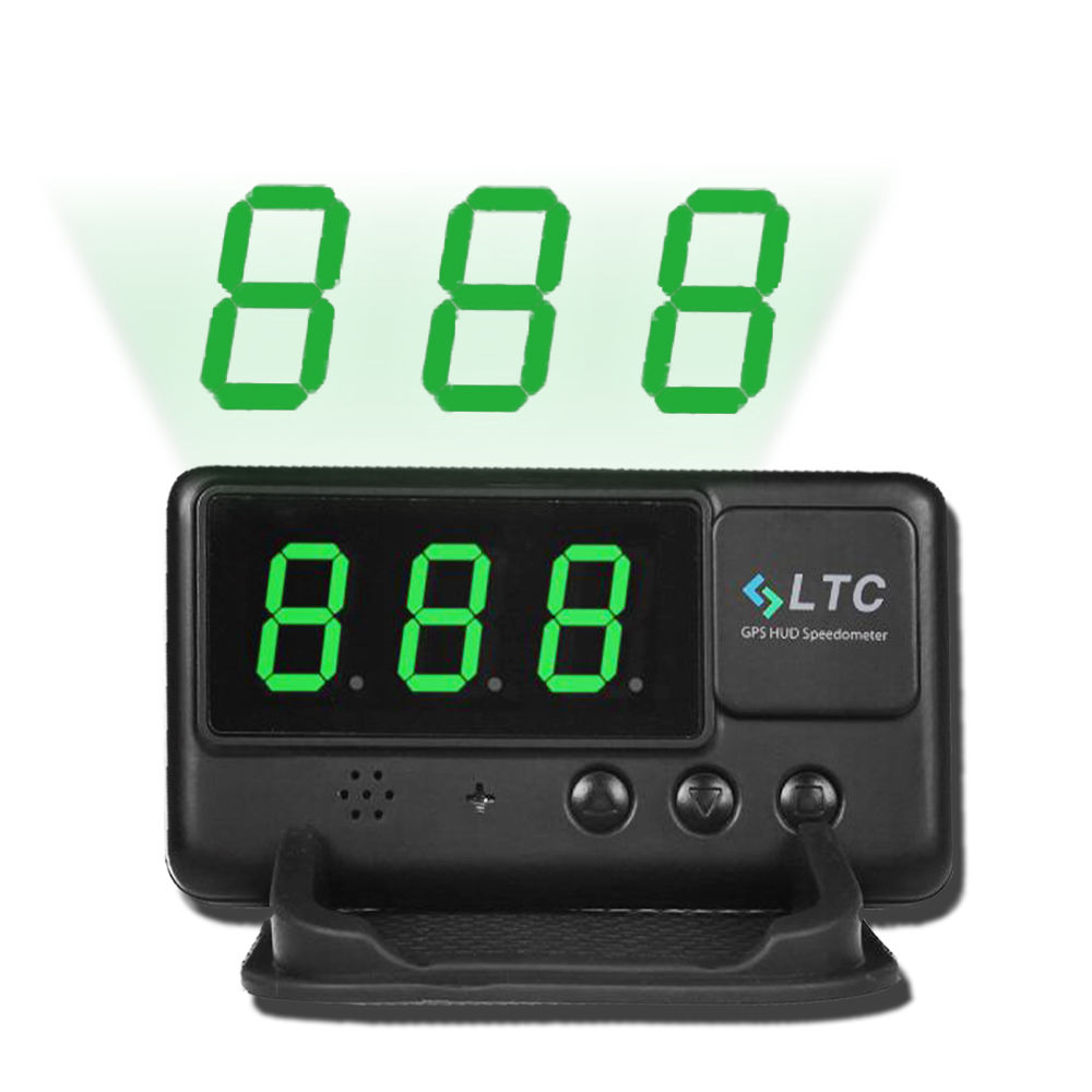 universal head up car gps speedometer hud overspeed alarm. Black Bedroom Furniture Sets. Home Design Ideas