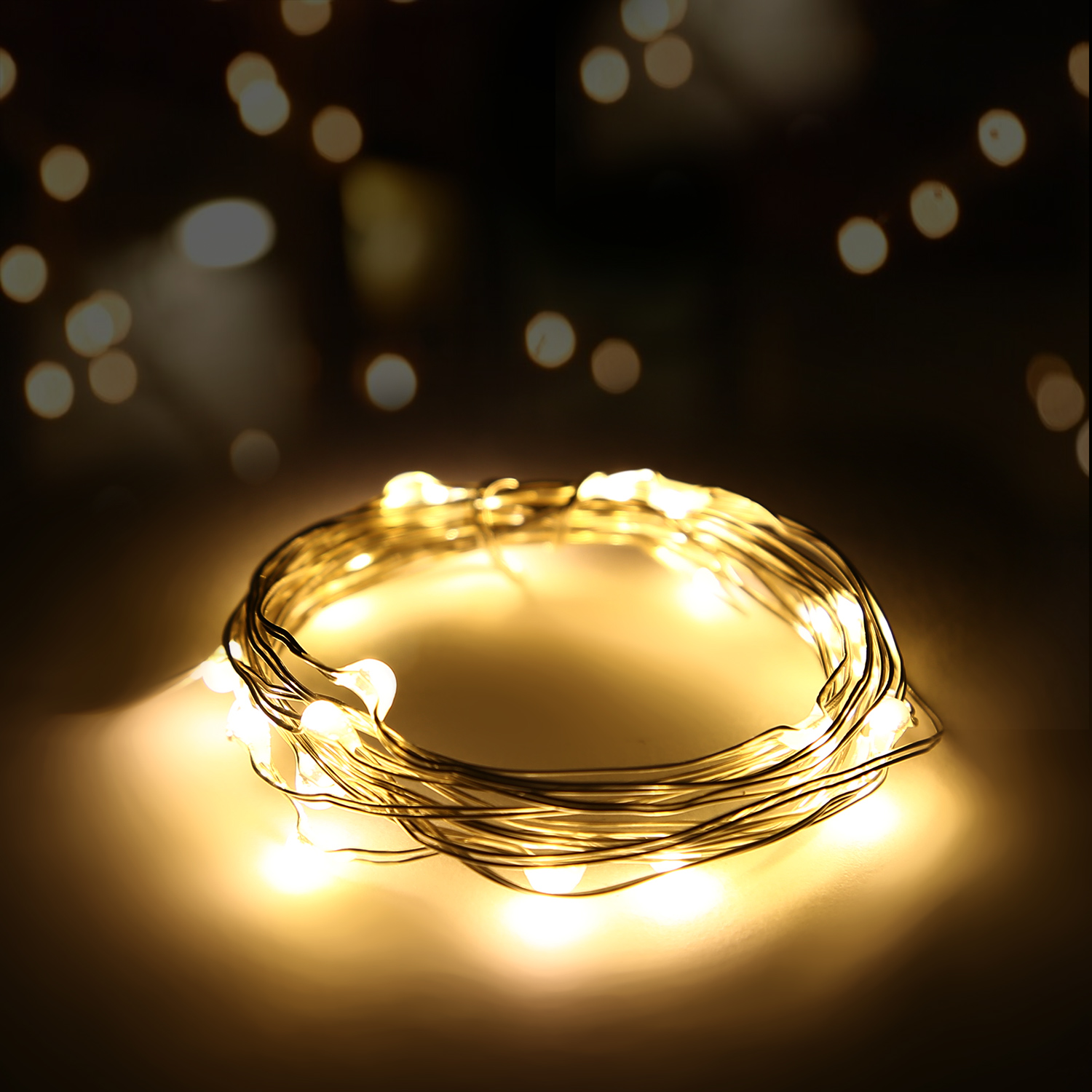 20-1000LED String Fairy Light Wire UK Plug/Battery Operated Xmas Party Decor lot eBay