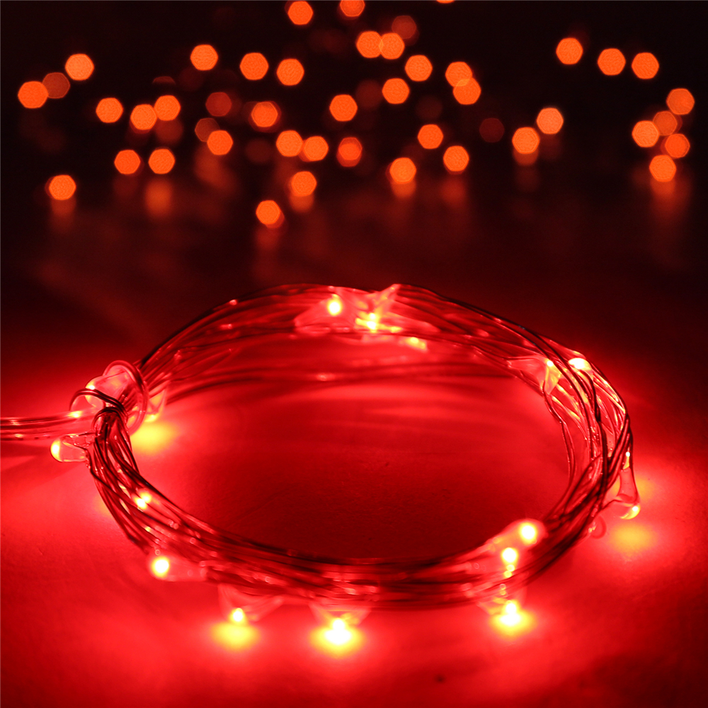 20/30/100/200/500 LED Solar/Battery Powered Fairy String Lights Outdoor Xmas eBay