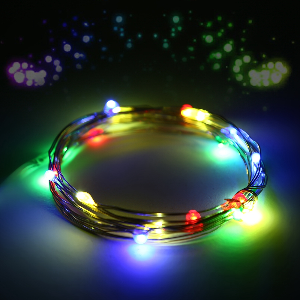 Battery Operated String Lights For Camping : 20/30/100/200/500 LED Solar/Battery Powered Fairy String Lights Outdoor Xmas eBay
